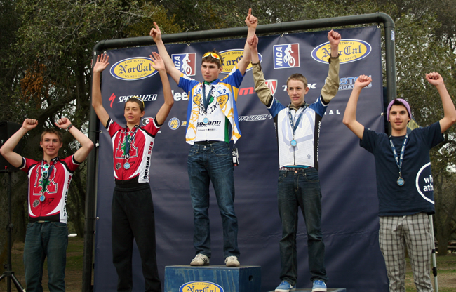 NorCal High School, Junior Varsity podium