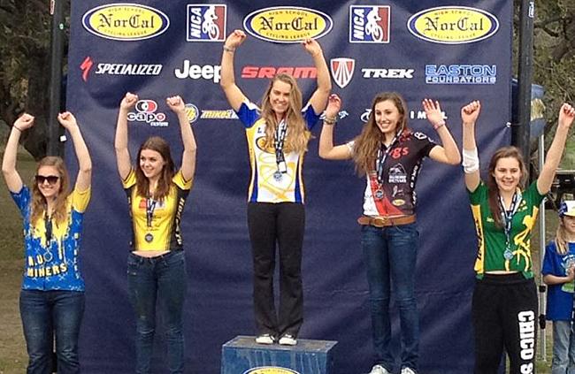NorCal High School, Sophomore Girls podium